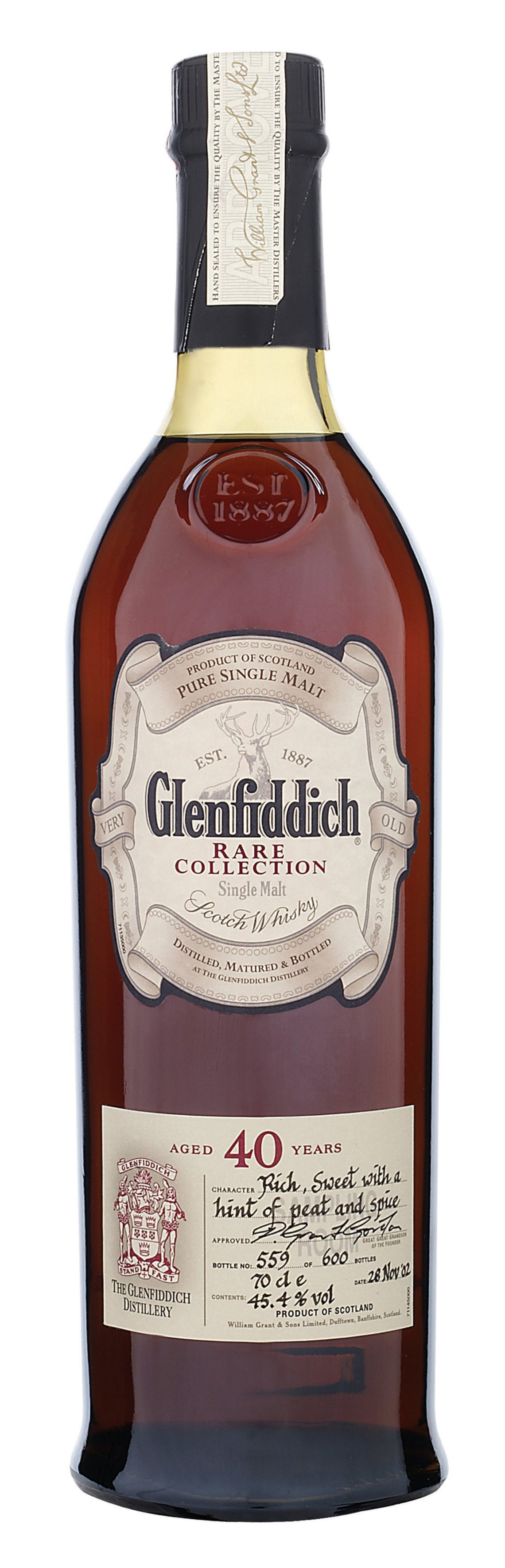 Glenfiddich 40 Years Old (6th Edition)