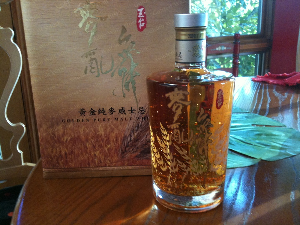 Taiwanese Golden Pure Malt Whisky