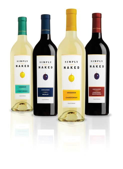 2010 Simply Naked Unoaked Pinot Grigio California