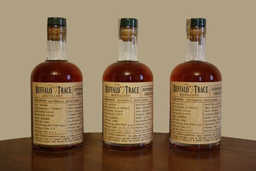 Buffalo Trace 2011 Experimental Collection 1989 Barrels, Rediscovered