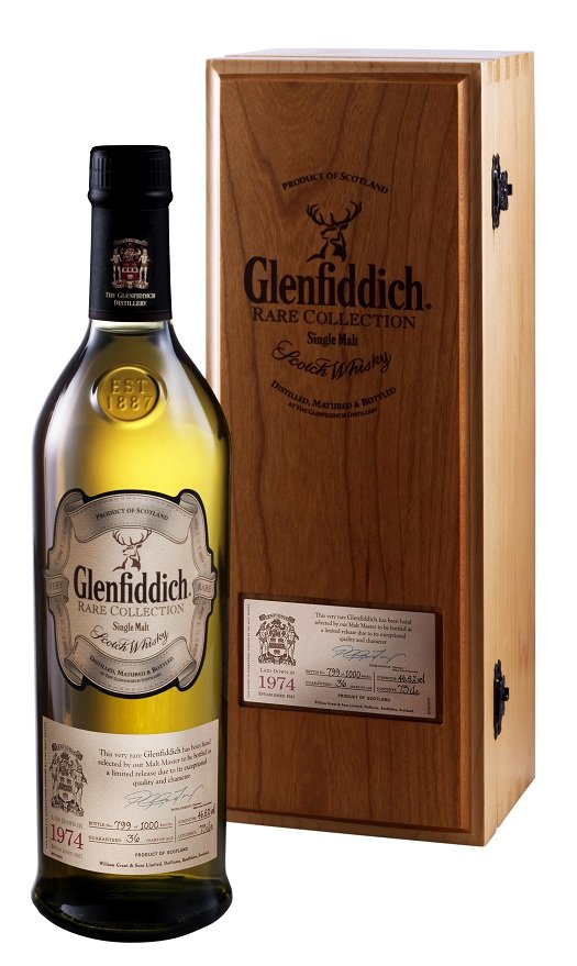 The Glenfiddich Rare Collection: 1974 Vintage Reserve
