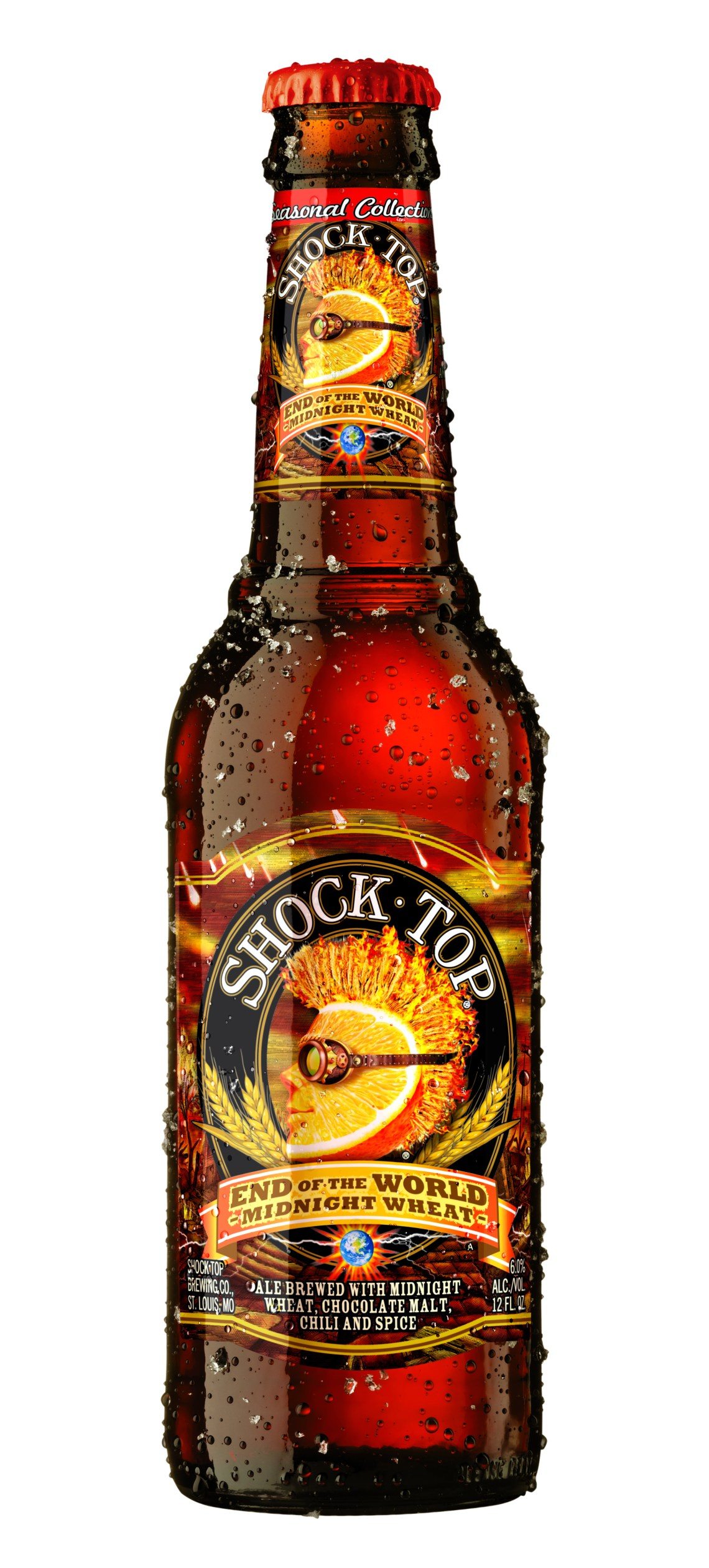 Shock Top End of the World Midnight Wheat Beer
