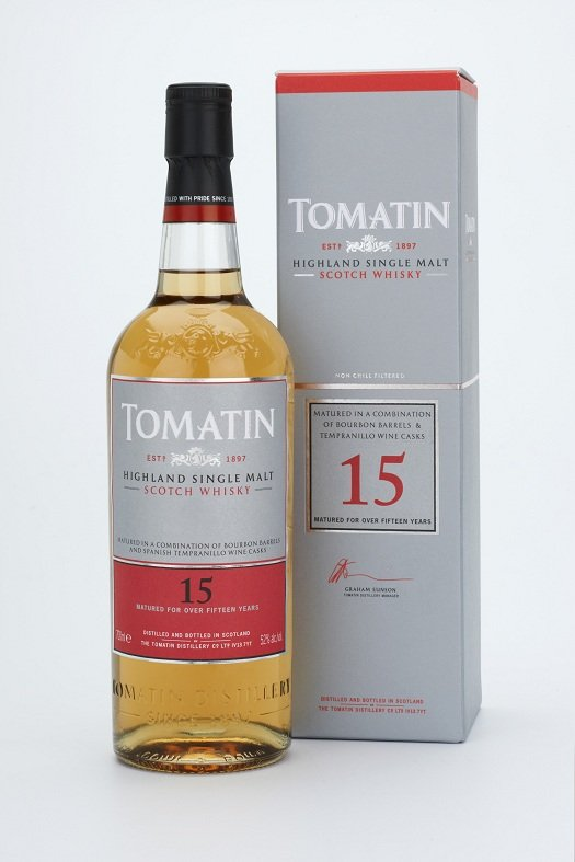 Tomatin 15 Years Old Tempranillo Cask Finish