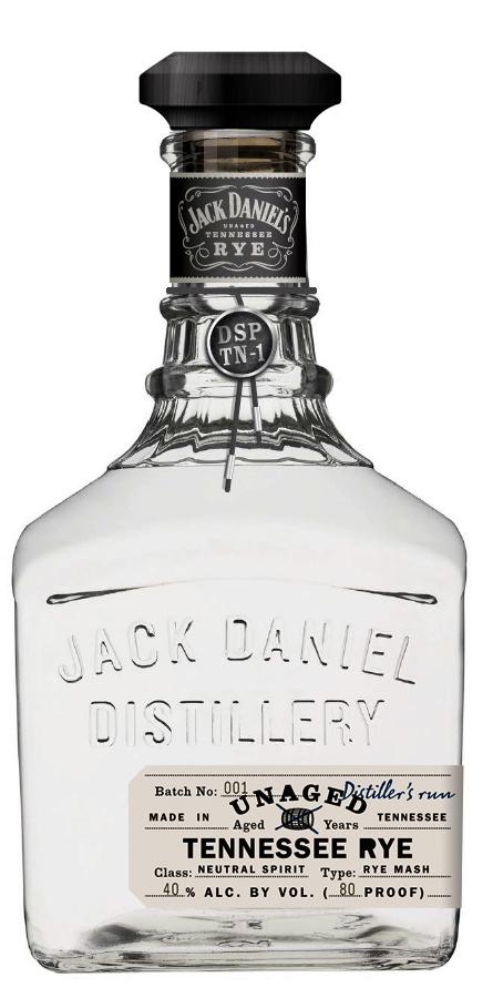 Jack Daniel's Unaged Tennessee Rye