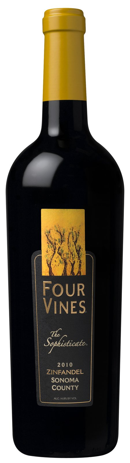 "2010 Four Vines Zinfandel ""The Sophisticate"" Sonoma County"