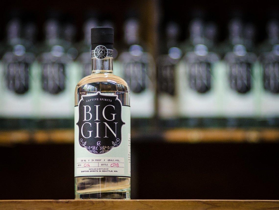 Captive Spirits Big Gin