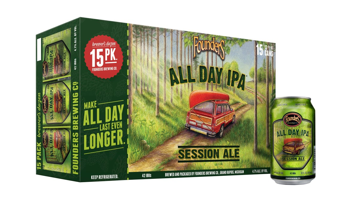Founders Brewing All Day IPA Session Ale