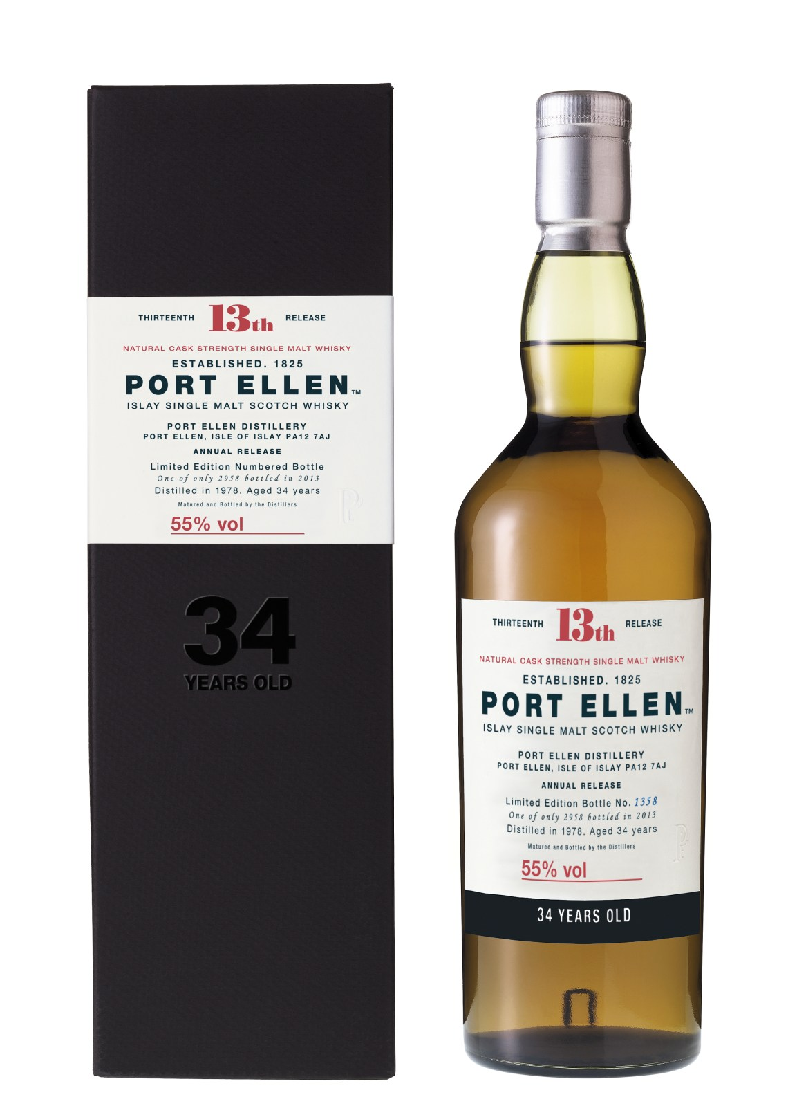 Port Ellen 34 Years Old Limited Edition 2013