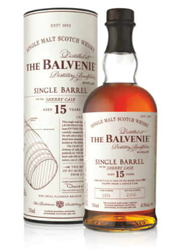 The Balvenie Single Barrel Sherry Cask 15 Years Old Cask