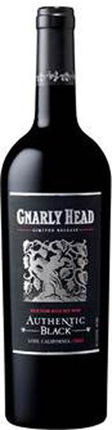 2012 Gnarly Head Authentic Black Lodi
