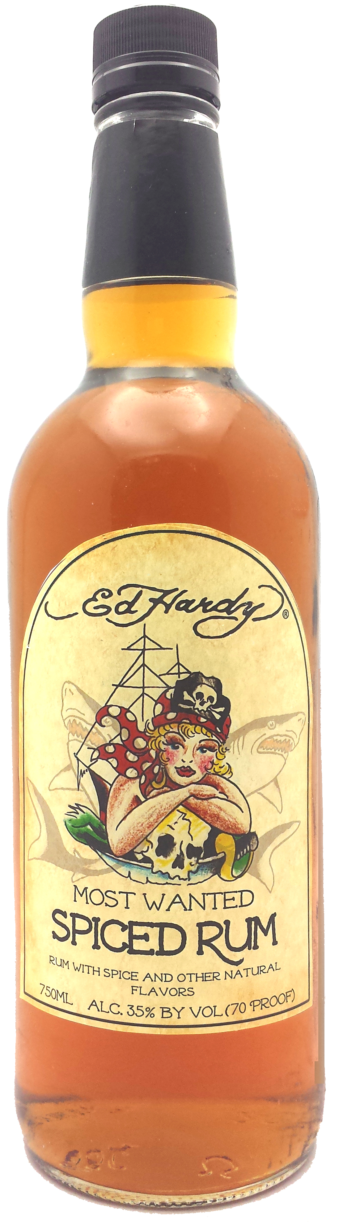 "Ed Hardy ""Most Wanted"" Spiced Rum"