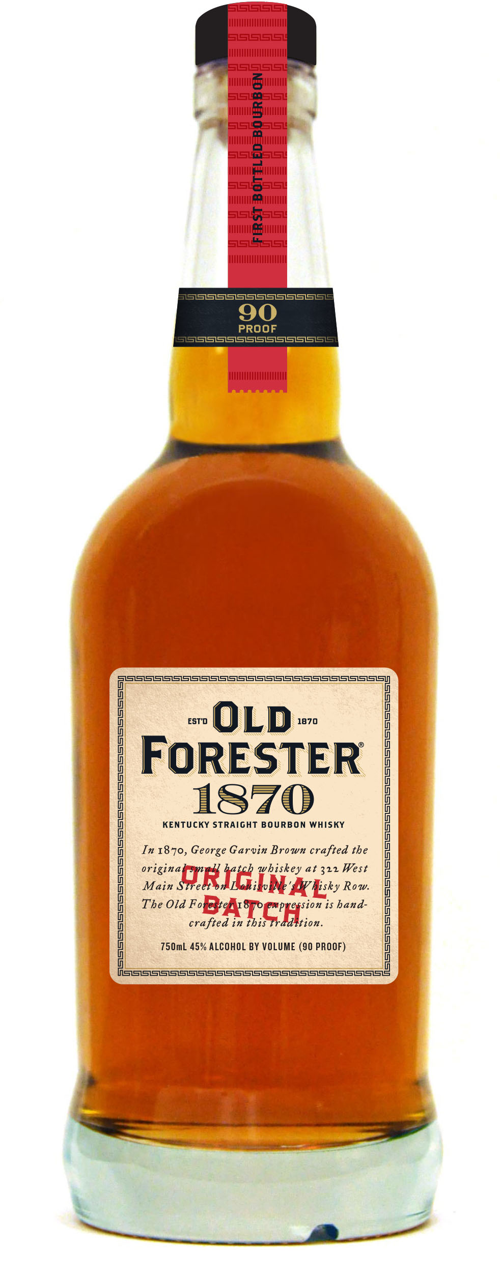 Old Forester Whiskey Row Series - 1870 Original Batch Bourbon
