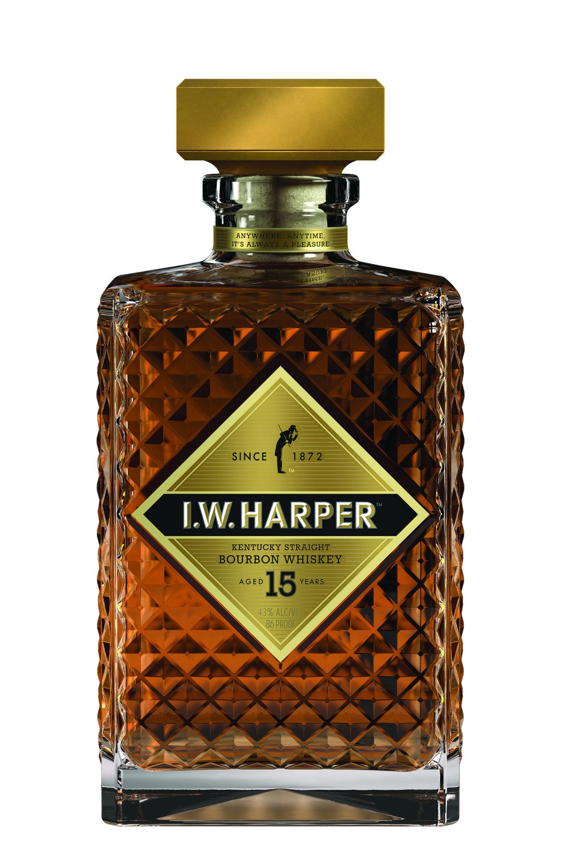 I.W. Harper Kentucky Straight Bourbon Whiskey 15 Years Old
