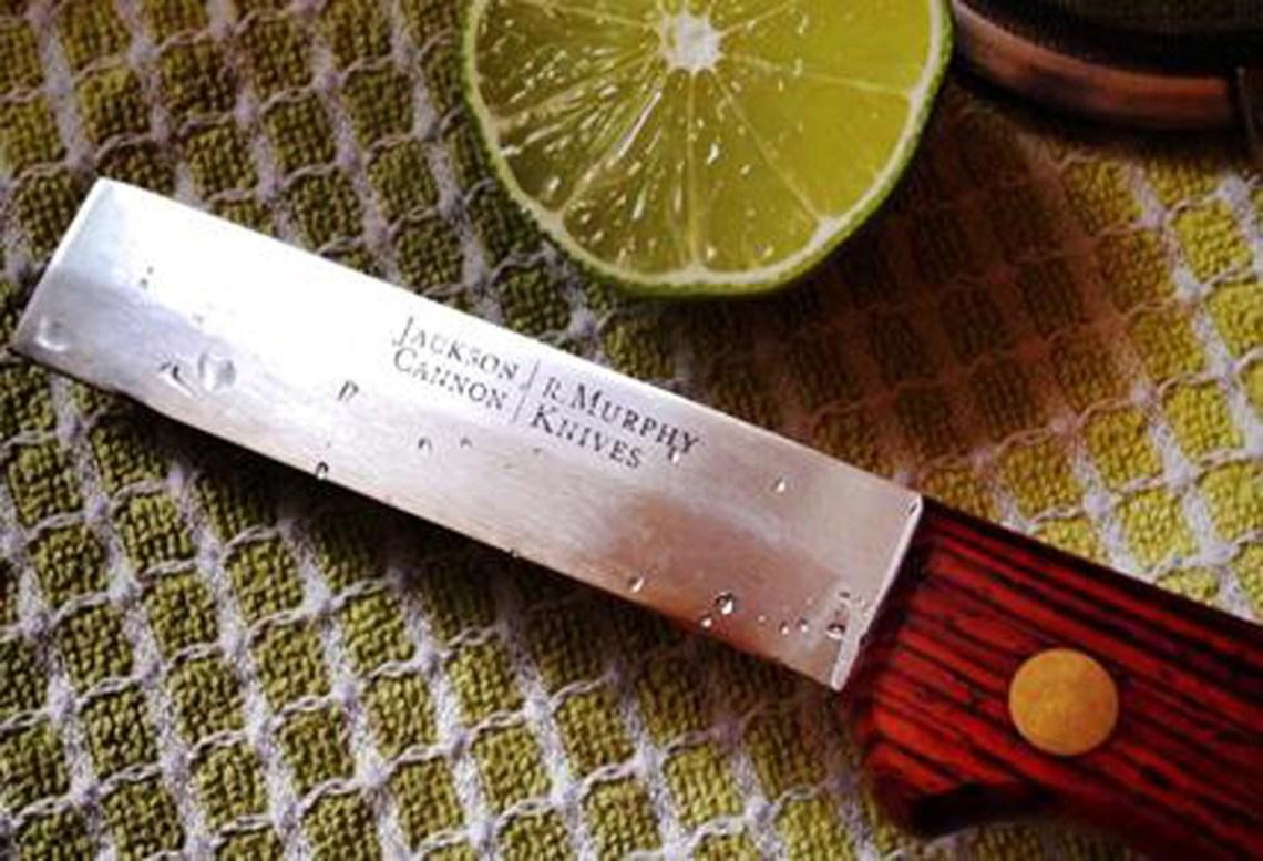 The Jackson Cannon Bar Knife