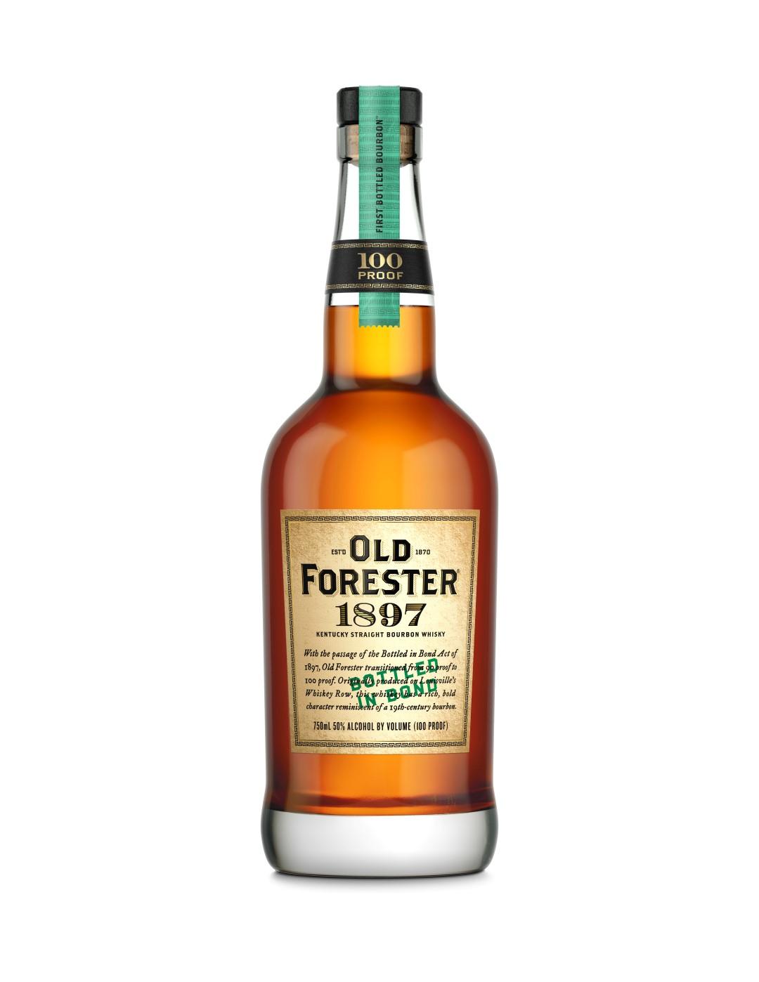 Old Forester Whiskey Row Series – 1897 Bottled in Bond Bourbon