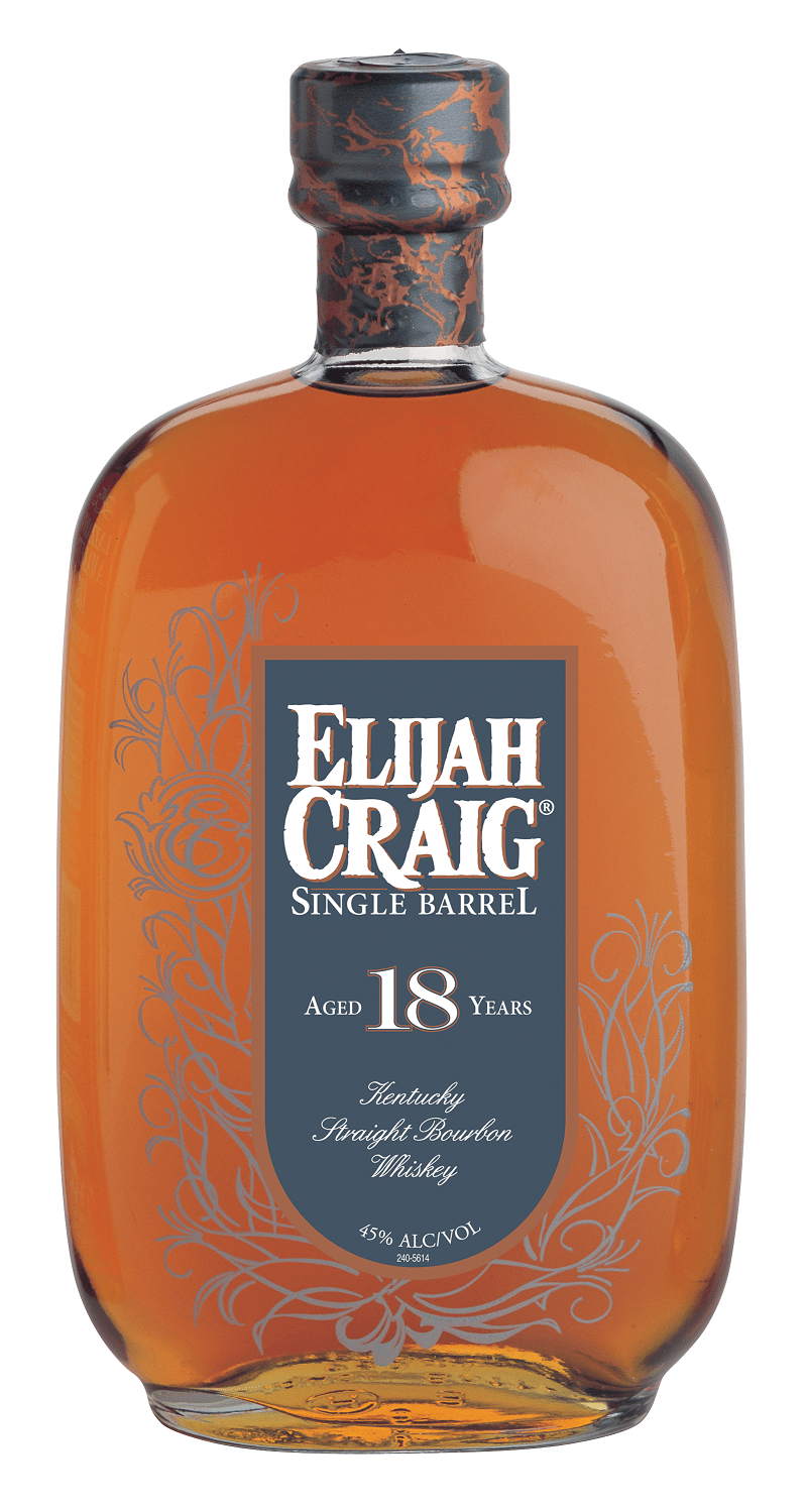 Elijah Craig Single Barrel Bourbon 18 Years Old