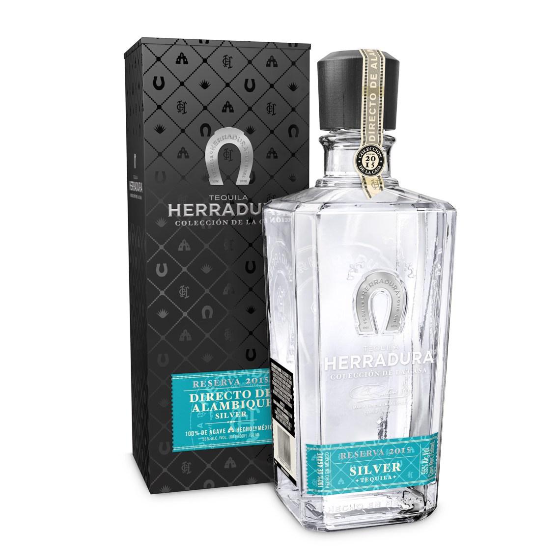 Tequila Herradura Coleccion de la Casa Directo de Alambique Silver Tequila, Reserva 2015