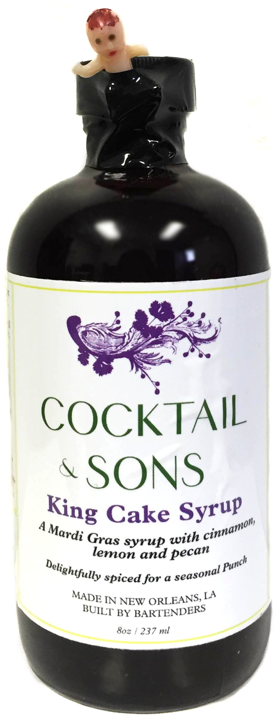 Cocktail & Sons King Cake Syrup