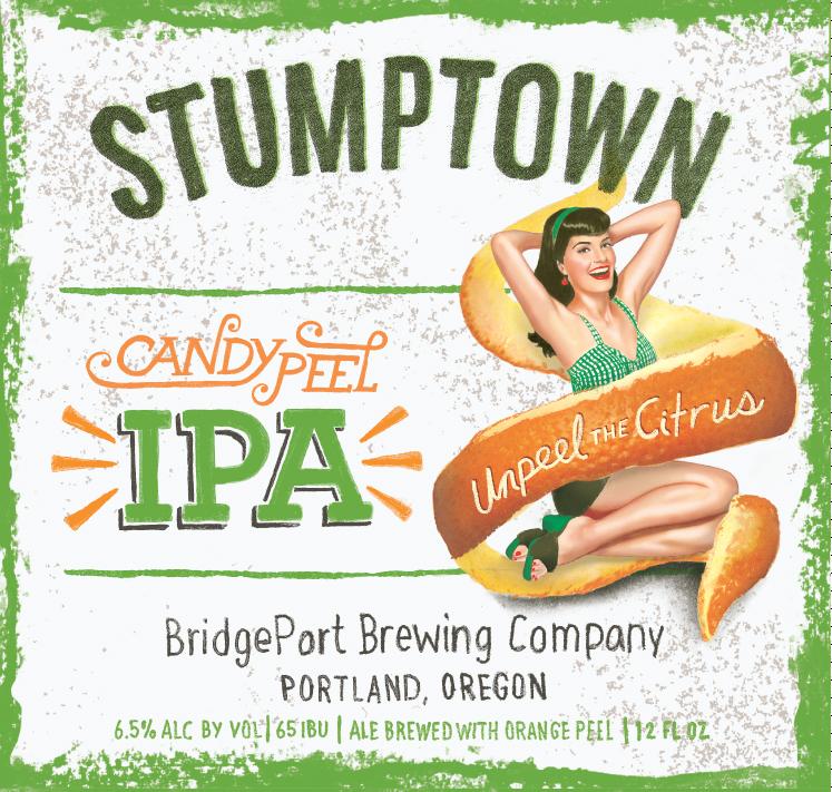 BridgePort Brewing Stumptown CandyPeel IPA