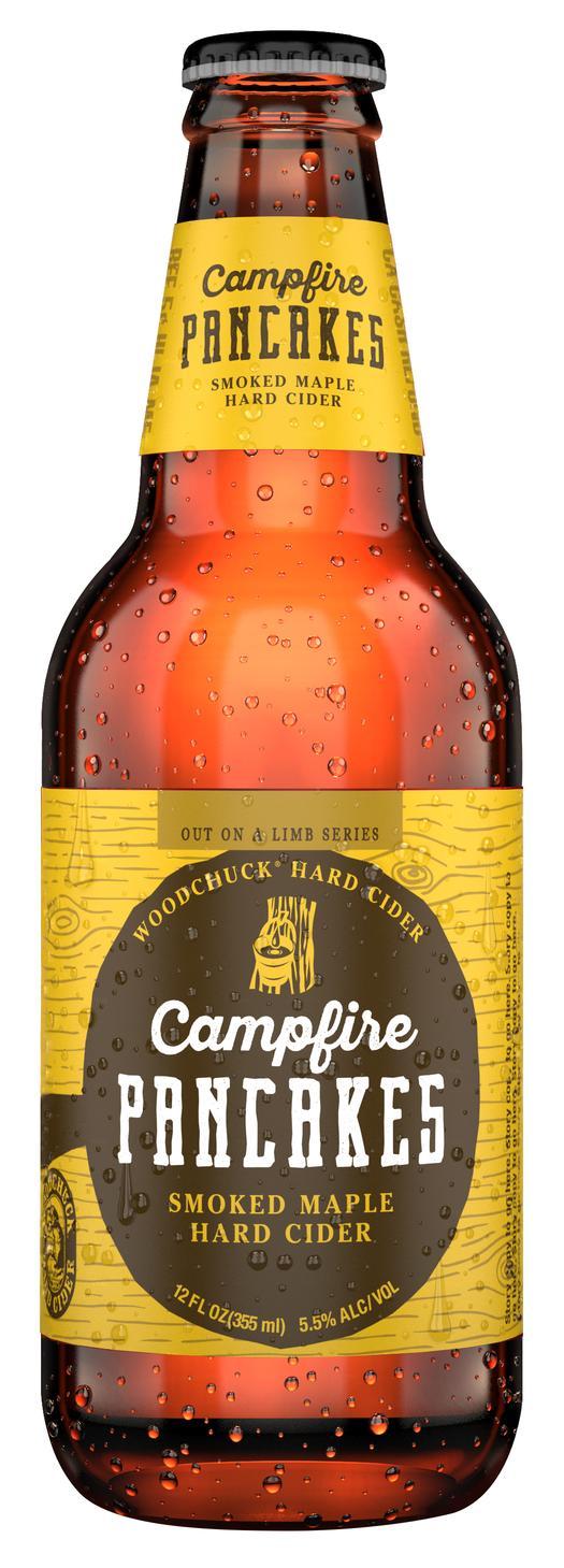 Woodchuck Campfire Pancakes Smoked Maple Hard Cider