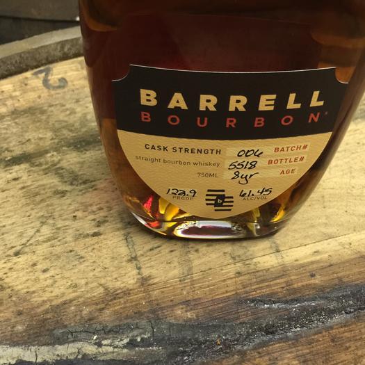 Barrell Bourbon Batch 006