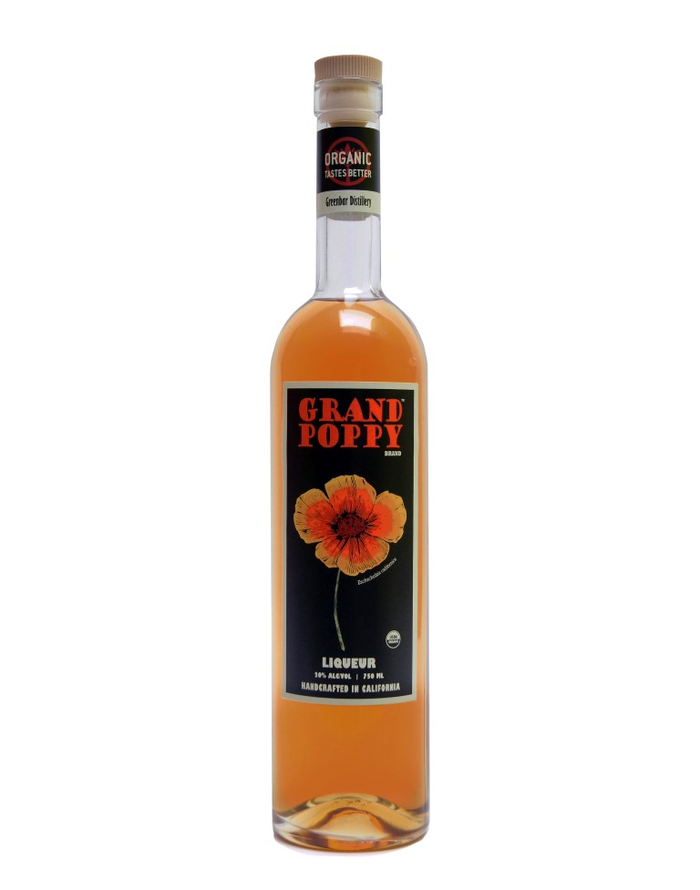 Greenbar Grand Poppy Liqueur