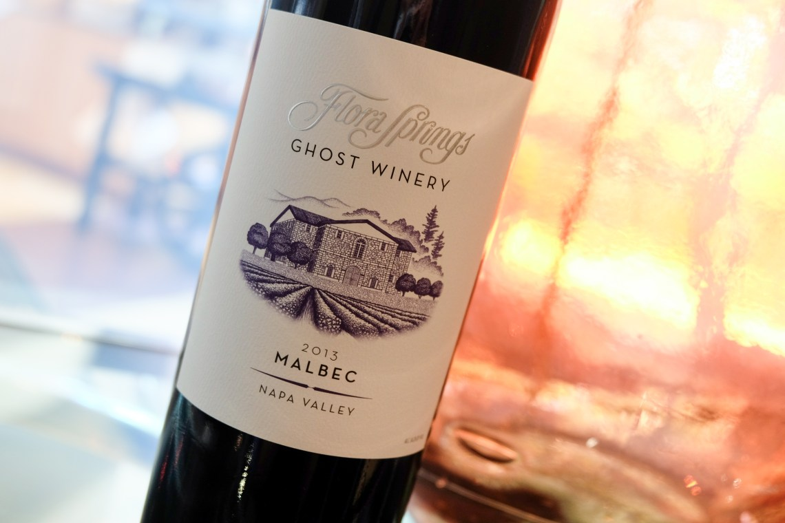 2014 Flora Springs Ghost Winery Malbec Napa Valley