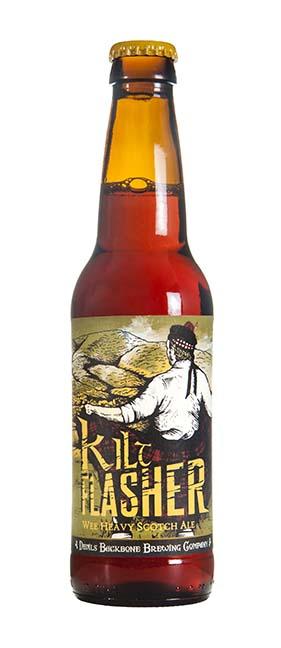 Devils Backbone Kilt Flasher Wee Heavy Scotch Ale