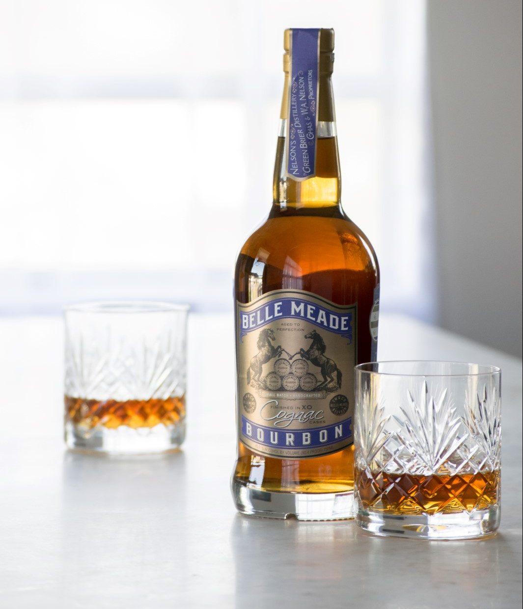 Nelson's Green Brier Belle Meade Bourbon Cognac Cask Finished