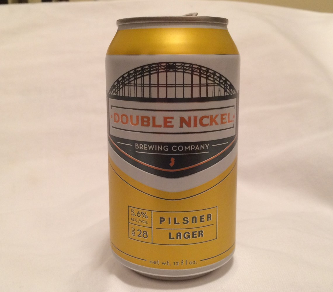 Double Nickel Brewing Pilsner