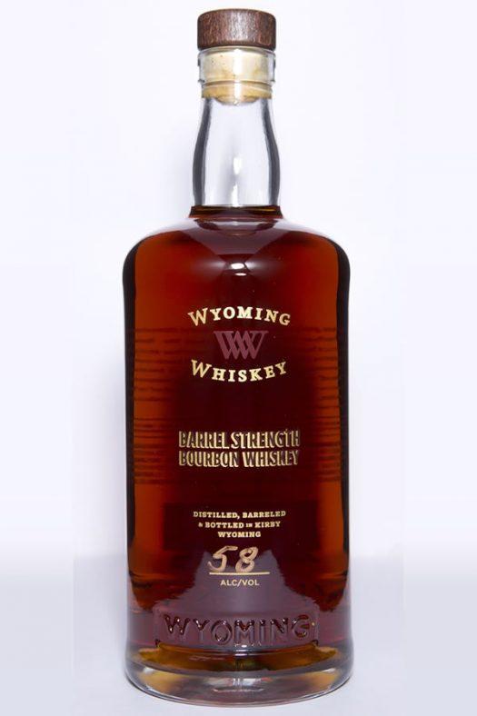 Wyoming Whiskey Barrel Strength Bourbon