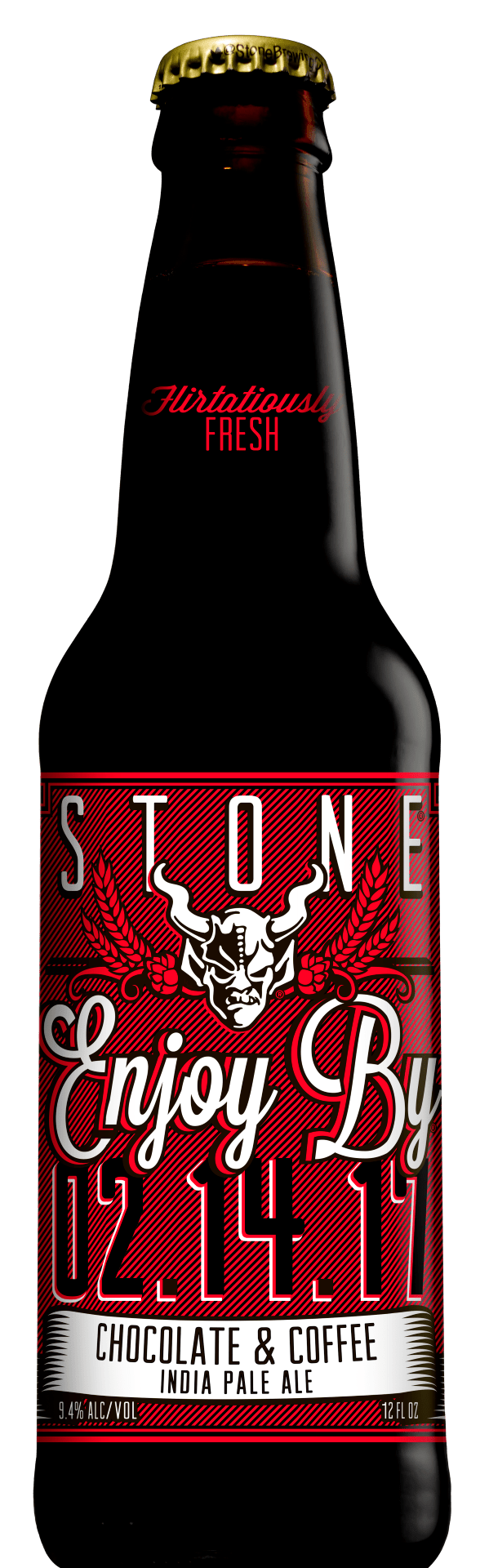 Stone Enjoy By 02.14.17 Chocolate & Coffee IPA