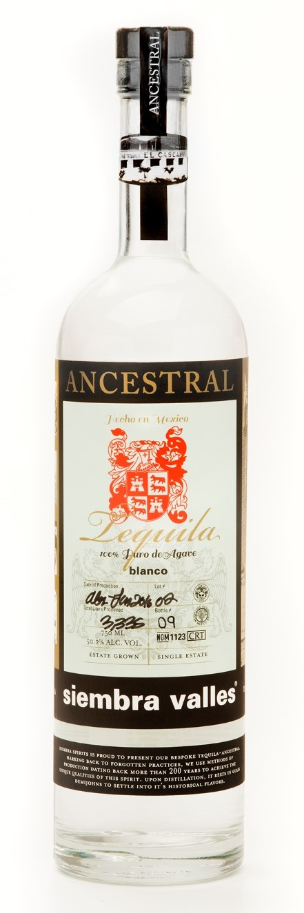 Siembra Valles Ancestral Tequila Blanco