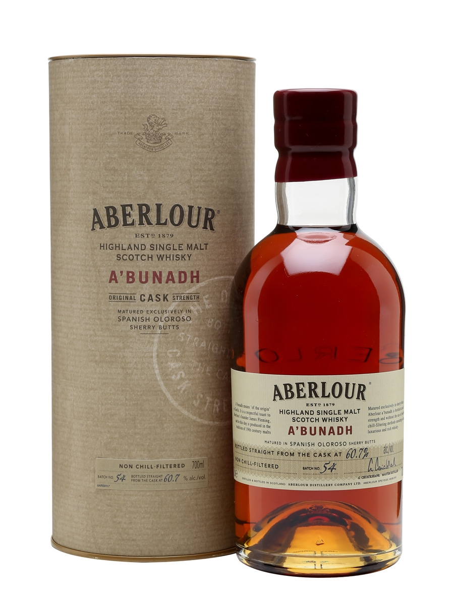 Aberlour A'bunadh Highland Single Malt Batch 54