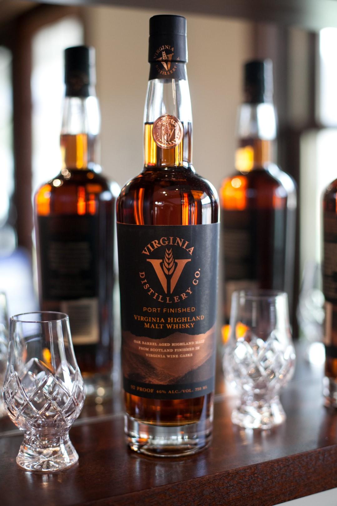 Virginia Distillery Port Finished Virginia Highland Malt Whisky