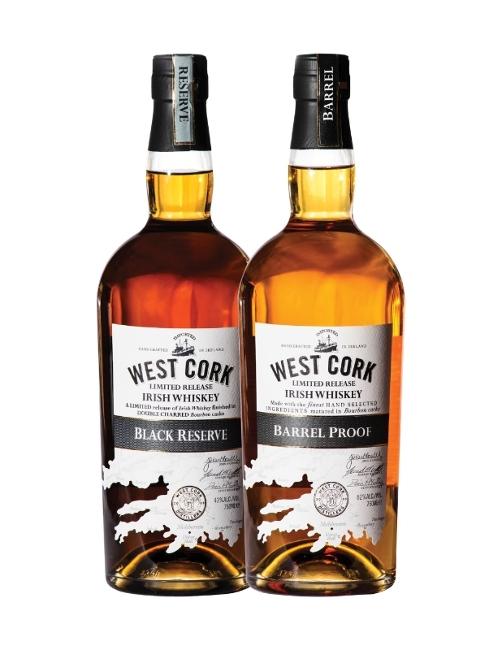 West Cork Irish Whiskey Black Reserve