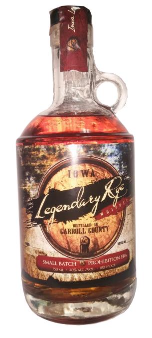 Iowa Legendary Rye Whiskey