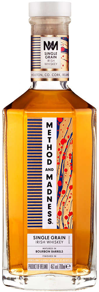Method And Madness Single Grain Irish Whiskey
