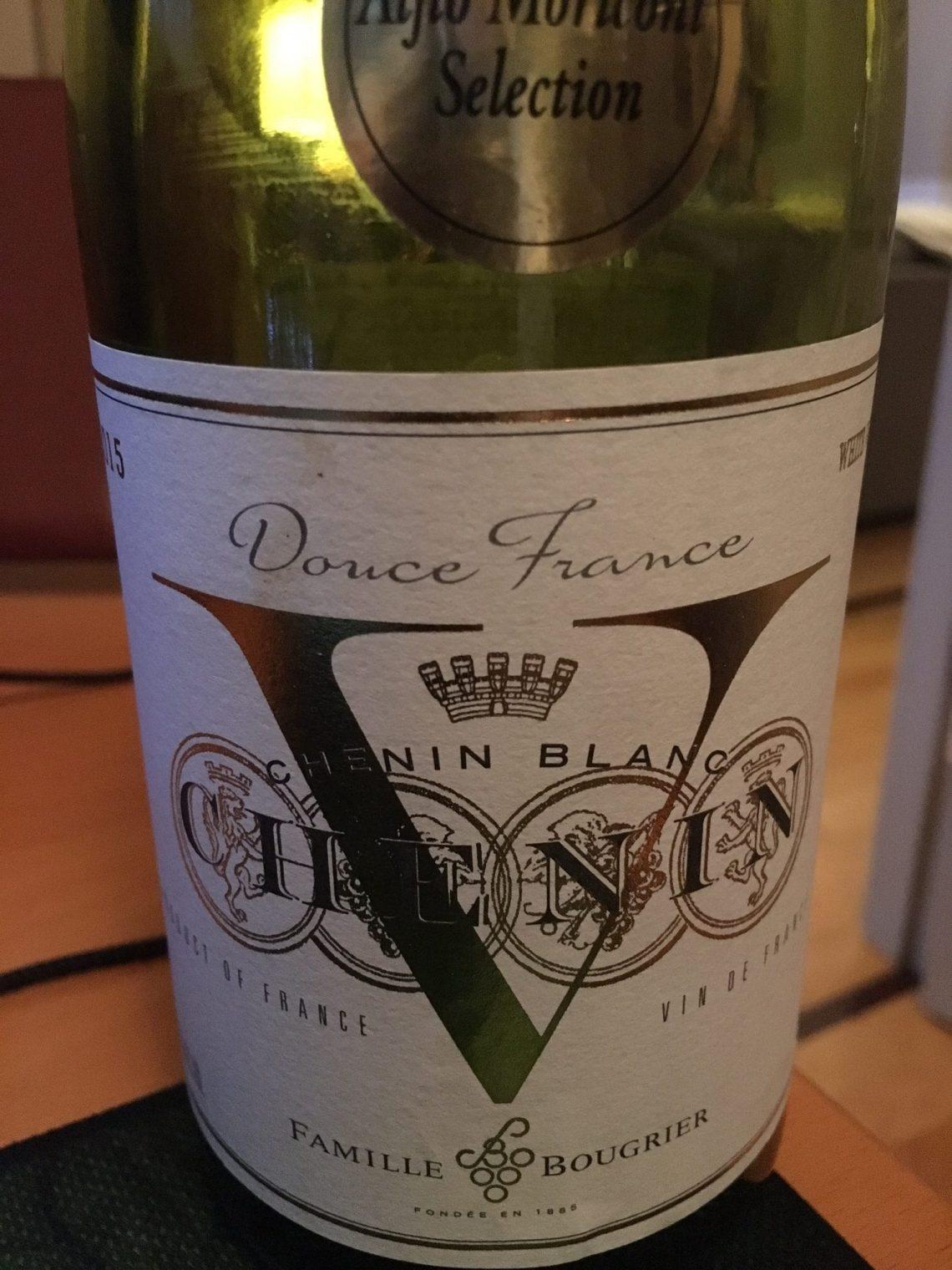 """2015 Bougrier Chenin Blanc """"V"""" Vin de France"""