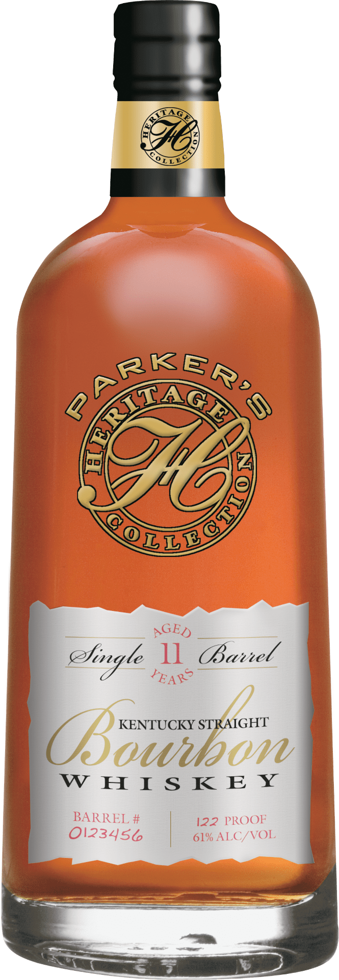 Parker's Heritage Collection Single Barrel Bourbon 11 Years Old (2017)