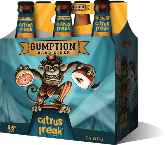 Woodchuck Gumption Citrus Freak Hard Cider