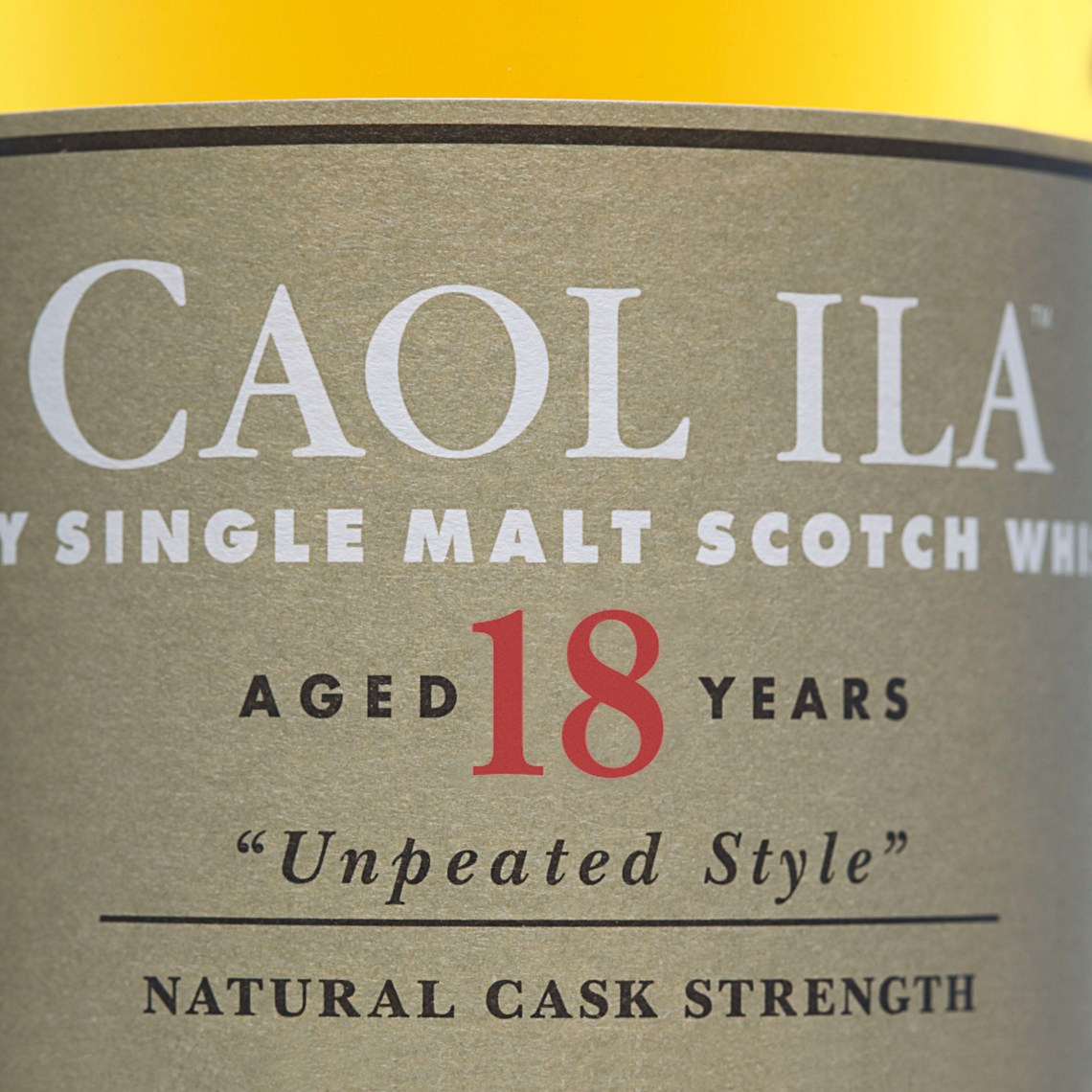 Caol Ila Unpeated 18 Years Old Limited Edition 2017