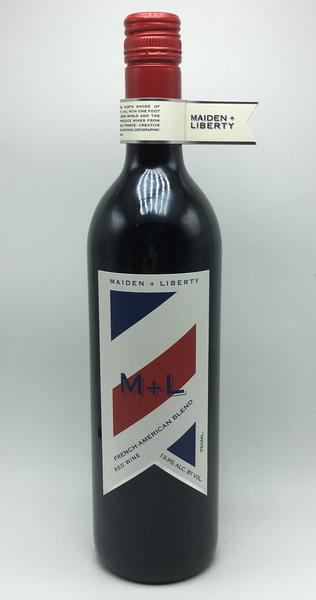 NV Maiden + Liberty French-American Red Blend Batch 001