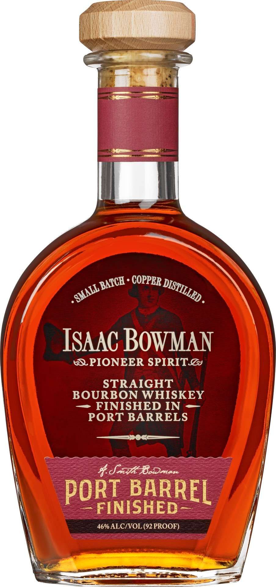 A. Smith Bowman Isaac Bowman Port-Barrel Finished Bourbon