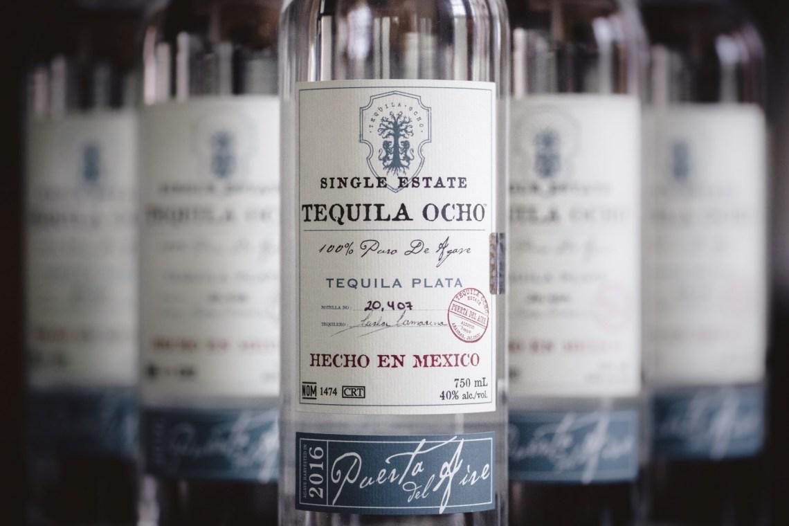 Tequila Ocho Plata Puerta del Aire 2016