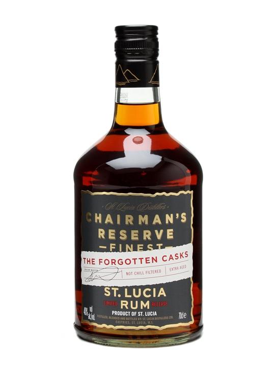 Chairman's Reserve The Forgotten Casks Rum