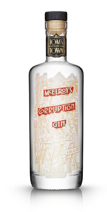 Tom's Town McElroy's Corruption Gin