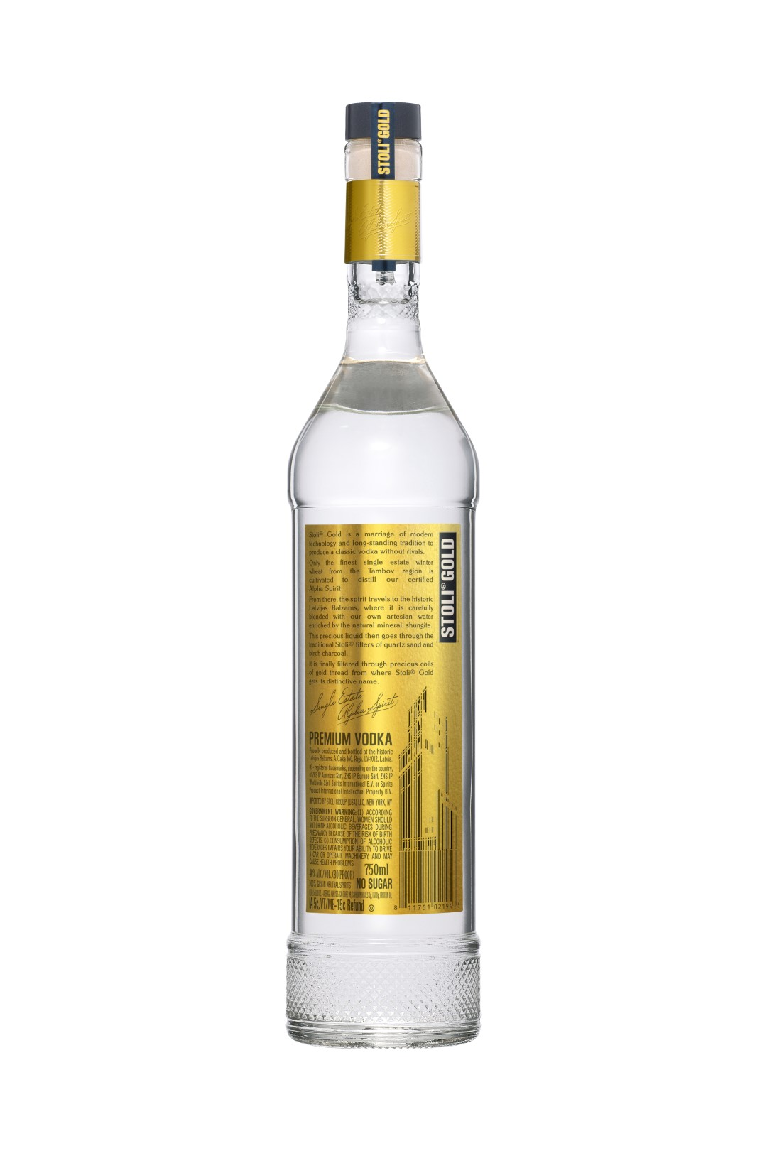Stolichnaya Stoli Gold Edition Vodka