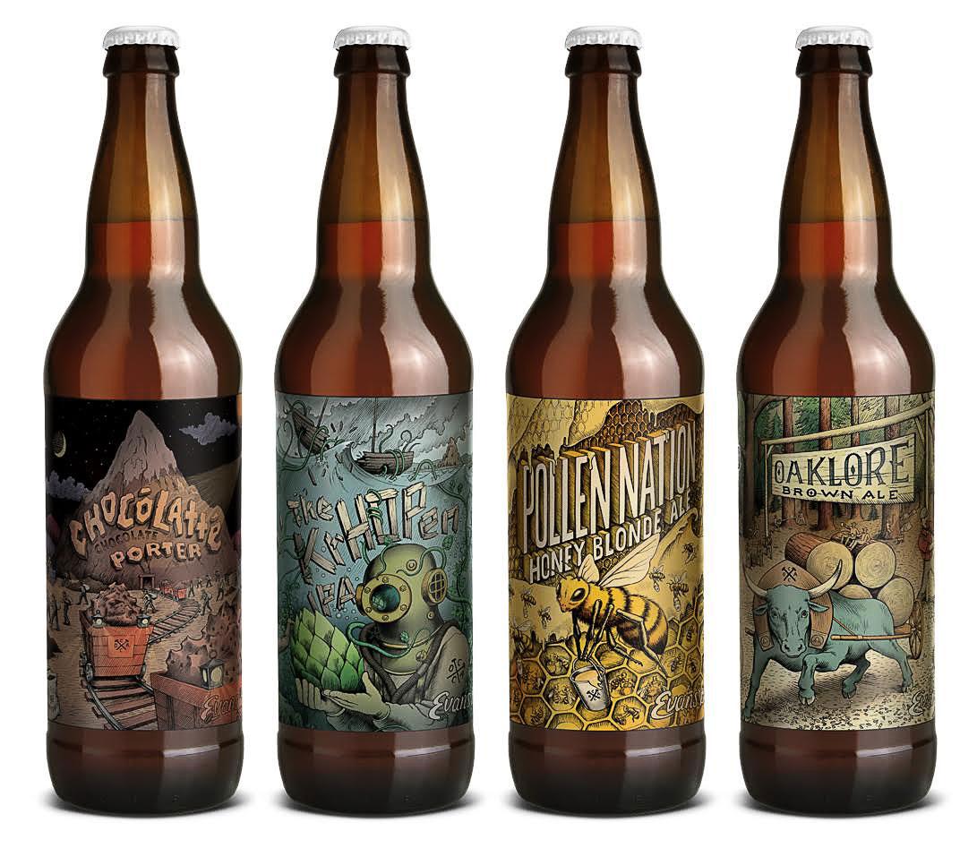 Evans Brewing Co. The Krhopen IPA