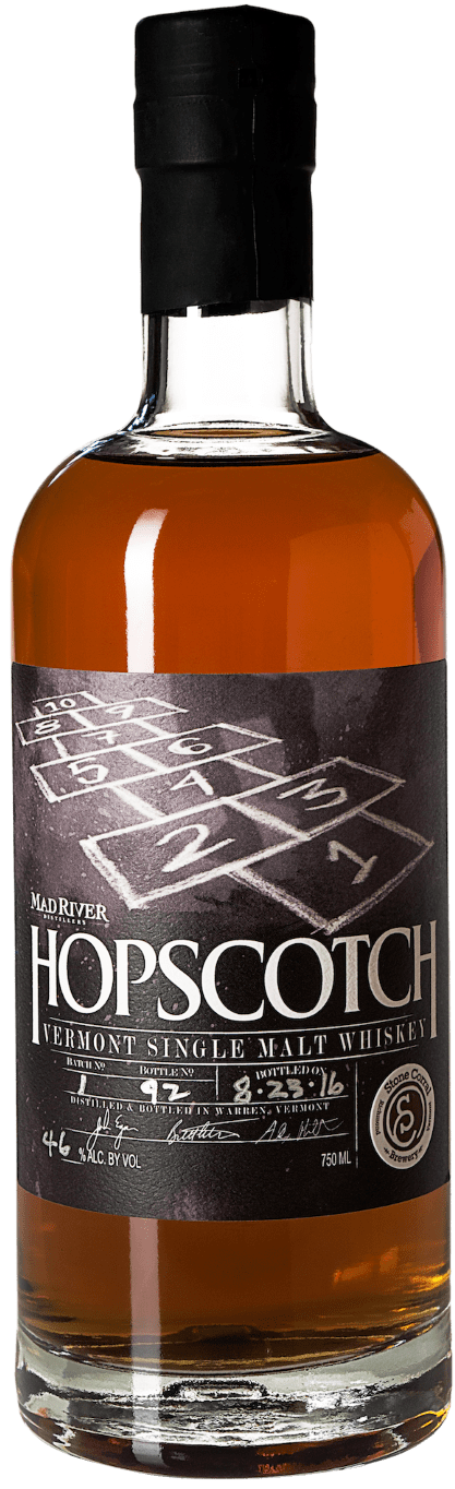 Mad River Hopscotch Vermont Single Malt Whiskey